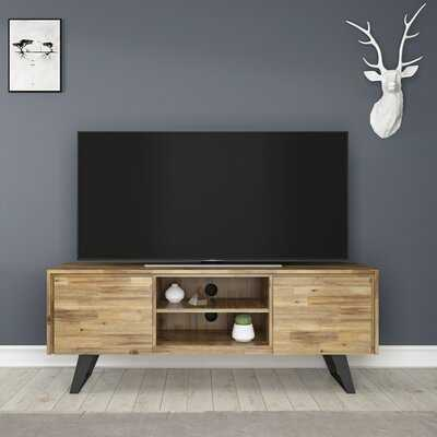"Midway Solid Wood TV Stand for TVs up to 70"" - Wayfair"