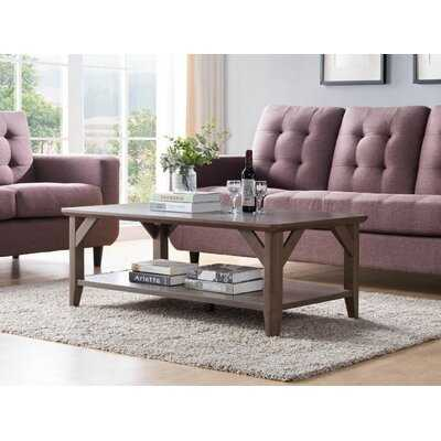 Coffee Table with Storage - Wayfair