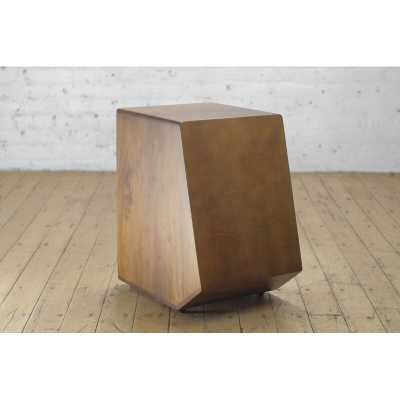 From the Source Kajon Solid Wood Drum End Table - Perigold
