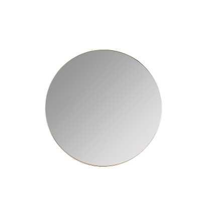 Franco Round Wall Mirror Finish: Gold - Perigold