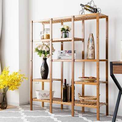 "Swinford 45.5"" H x 55.5"" W Etagere Bookcase - Wayfair"