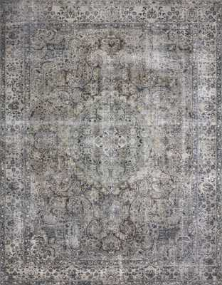 """Layla LAY-06 Taupe / Stone 3'-6"""" x 5'-6"""" - Loma Threads"""