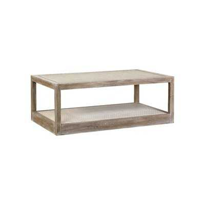 Floor Shelf Coffee Table - Wayfair