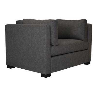 Hayden Arm Chair, Gray - Zuri Studios