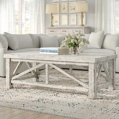 Solid Wood 4 Legs Coffee Table - Wayfair