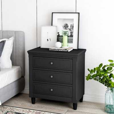 3-Drawer Nightstand - Wayfair