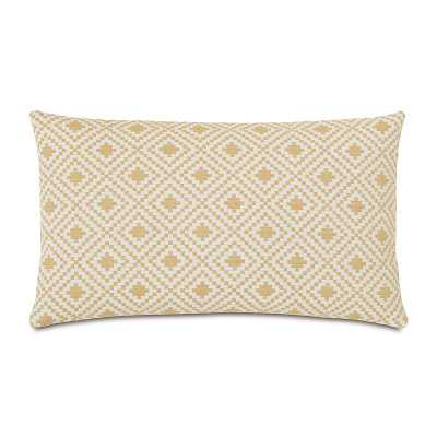 Eastern Accents Downey Cyrus Straw Lumbar Pillow - Perigold
