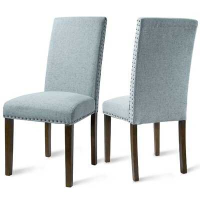 Arkhurst Linen Upholstered Dining Chair - Wayfair