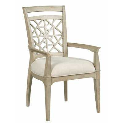 Rodgers Upholstered Arm Chair in Oyster (Set of 2) - Wayfair