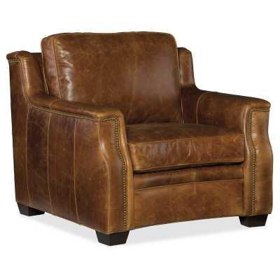 "Hooker Furniture Yates 39.5"" W Club Chair - Perigold"