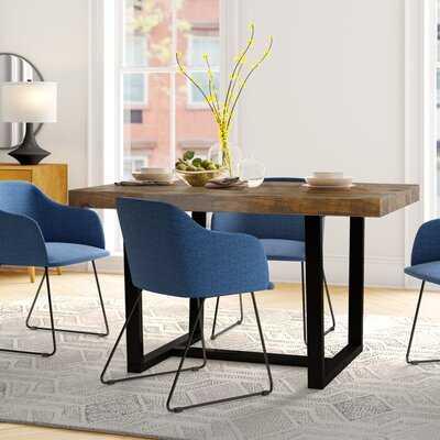 Minerva Pine Solid Wood Dining Table - Wayfair
