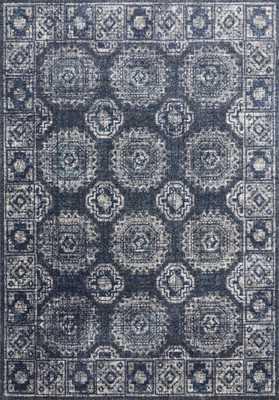 """Loloi Joaquin JOA-03 Denim / Grey 5'-3"""" x 7'-8"""" - Loma Threads"""