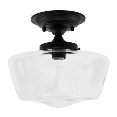 Ricarda 1-Light Semi Flush Mount - Wayfair