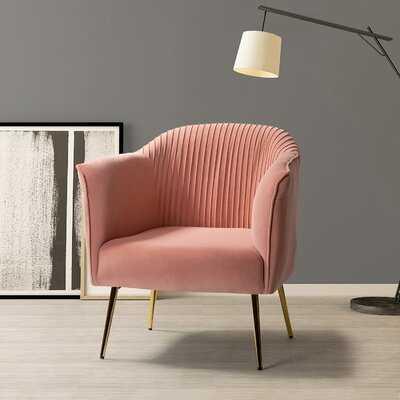 """Masson 27"""" W Velvet Barrel Chair - Wayfair"""