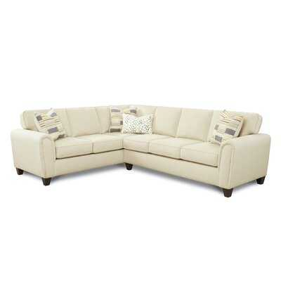 "Bissell 115"" Left Hand Facing Sectional - Wayfair"