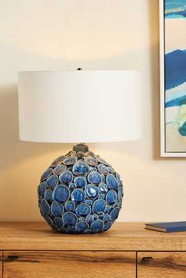 Lucille Ceramic Table Lamp By Anthropologie in Blue - Anthropologie