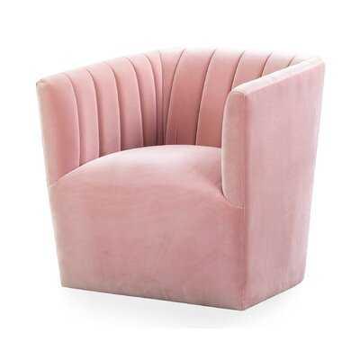 Foust Fabric Swivel Armchair - Wayfair