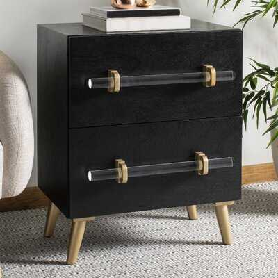 Morecambe 2 Drawer Nightstand - Wayfair