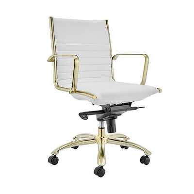 Dirk Low Back Office Chair - West Elm