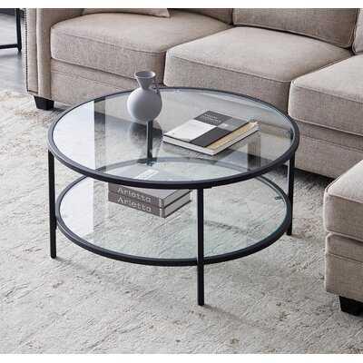 Cherin Coffee Table with Storage - Wayfair