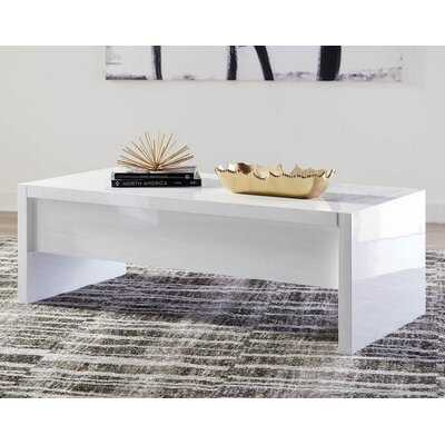 Stilwell Coffee Table with Storage - Wayfair