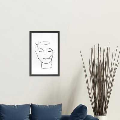 Line Drawing #4 - Picture Frame Drawing Print on Paper - Wayfair