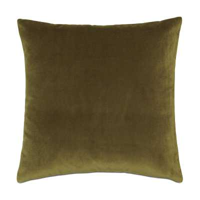 Eastern Accents Studio 773 Velvet Feathers Throw Pillow Color: Green - Perigold