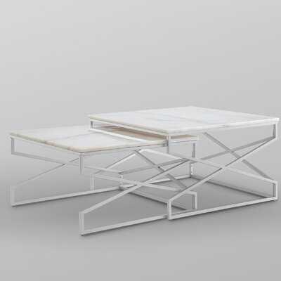 Jayceon Frame 2 Nesting Tables - Wayfair