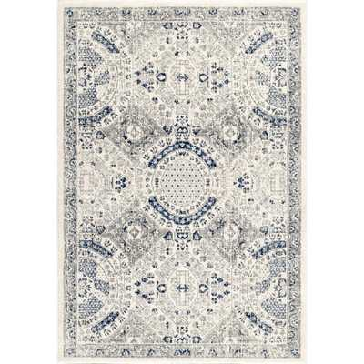 nuLOOM Minta Modern Persian Blue 10 ft. x 14 ft. Area Rug - Home Depot