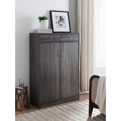 Wooden Entryway Shoe Storage Cabinet - Birch Lane