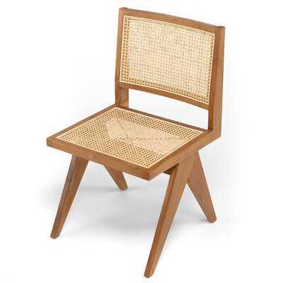 Solid Wood Side Chair - Wayfair