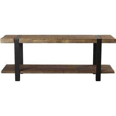 Thornhill Solid Wood Shelves Storage Bench - AllModern