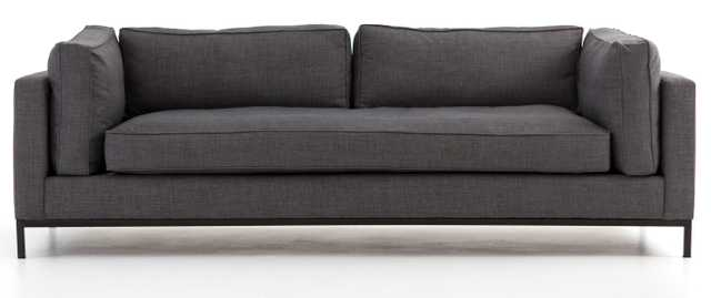 Cami Sofa, Charcoal - Lulu and Georgia