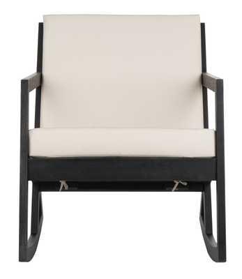 Vernon Rocking Chair - Black/White - Arlo Home - Arlo Home
