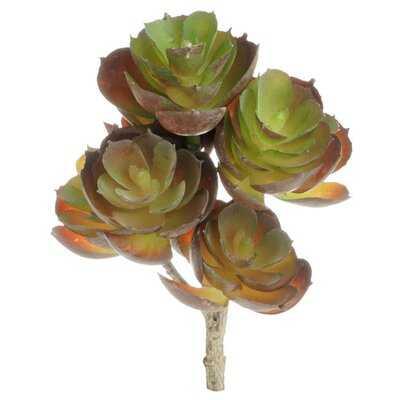Mini Faux Plant Artificial Agave Succulent - Wayfair