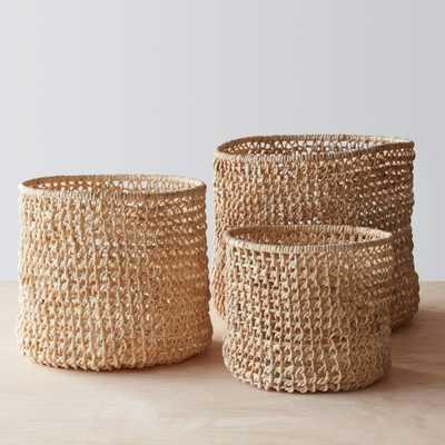 Opaka Storage Baskets - Set of 3 By The Citizenry - The Citizenry