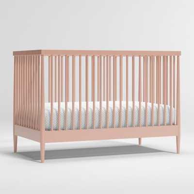 Hampshire Blush Crib - Crate and Barrel