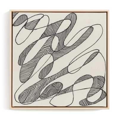 Read Between The Lines Art Print - Minted