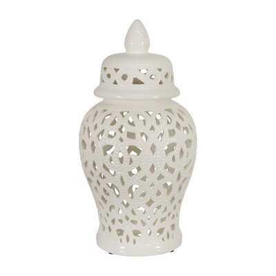 Boa Indoor / Outdoor Ceramic Jar - Wayfair