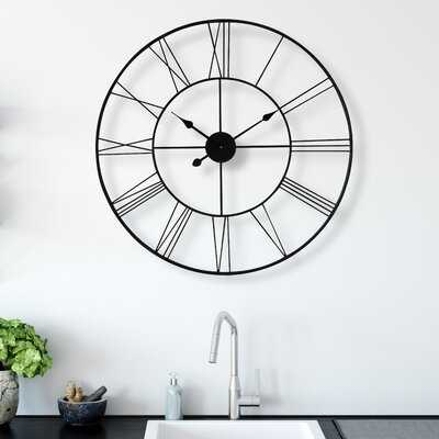 Melendez Wall Clock - Wayfair