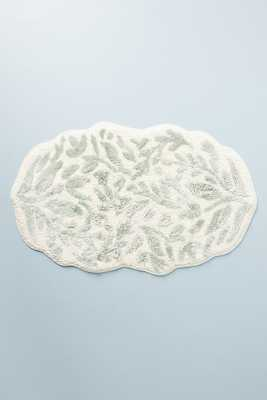 Lucia Bath Mat By Anthropologie in Blue Size L - Anthropologie