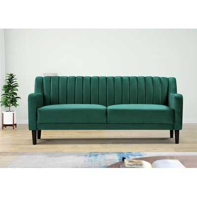 Velvet 73.6'' Square Arm Sofa - Wayfair