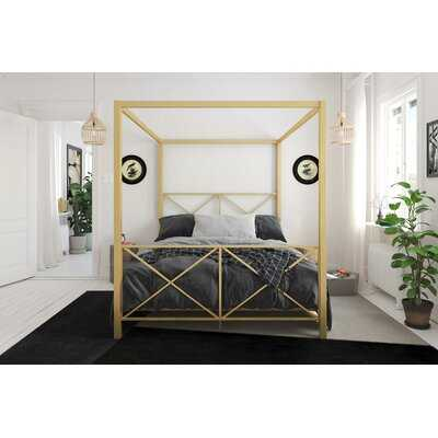 Saarah Canopy Bed - Wayfair