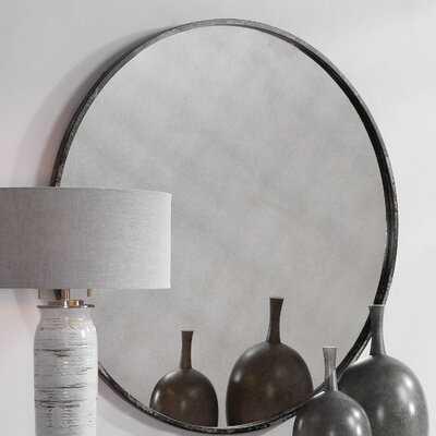 Lantz Industrial Accent Mirror - Wayfair