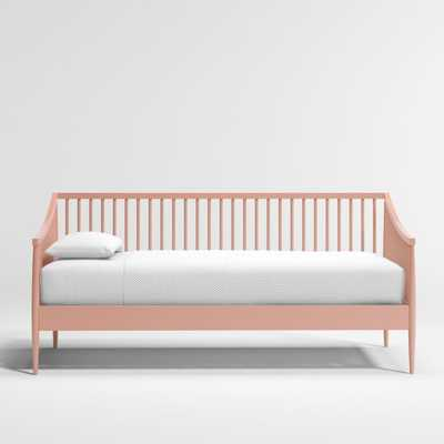 Hampshire Blush Spindle Daybed - Crate and Barrel