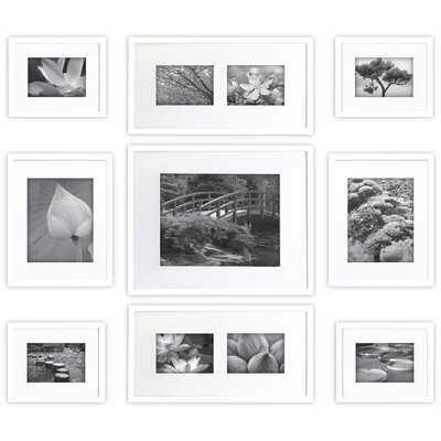 9 Piece Louvois Picture Frame Set - AllModern