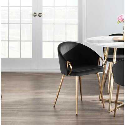 Salyer Upholstered Dining Chair - Wayfair