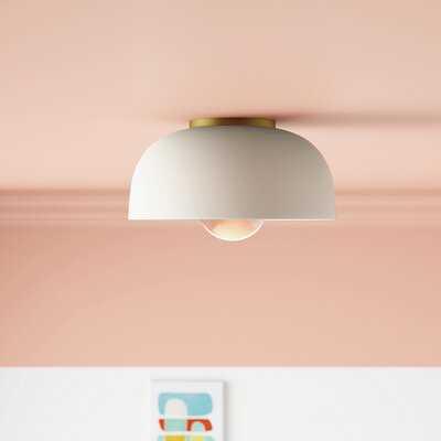 Walter 1-Light Flush Mount - Wayfair