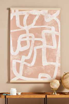 Abstract Tapestry Wall Art By Anthropologie in Pink - Anthropologie