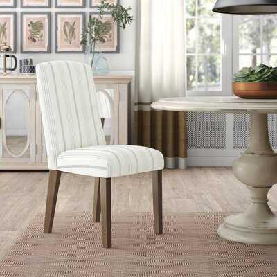 Bob Stripe Upholstered Dining Chair - Wayfair
